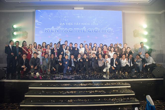 Dạ tiệc tất niên tập đoàn Lean Group năm 2018