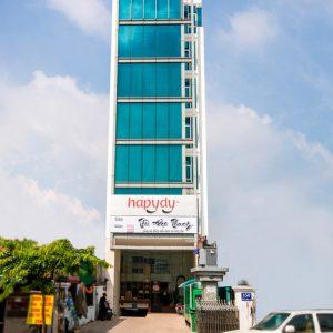 tòa nhà văn phòng cho thuê Win Home Trần Não