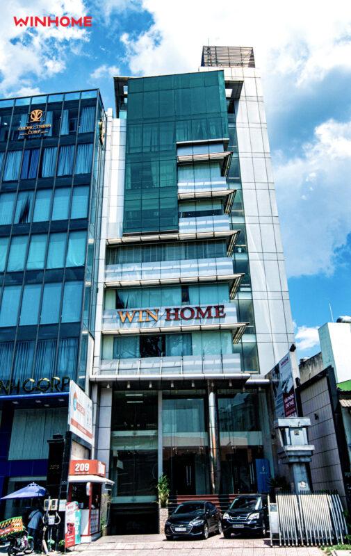 tòa nhà văn phòng win home tại hoàng văn thụ